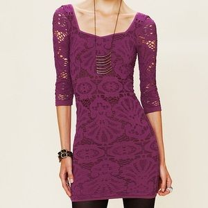 Free People Dresses - Free People Seamless Medallion Bodycon Dress